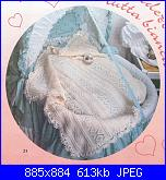 Copertina ai ferri per la nipotina-copertina-bianca-jpg