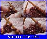 Tecniche di realizzazione:Lavorazione a ferri accorciati-knit-wrap-stitch-jpg