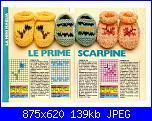 SCARPINE BEBE'-CALZE-CALZINI-BABBUCCE per tutti i gusti-scarpine-jpg