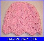 Cappelli,cuffiette,sciarpe.muffole,borse portatutto per bimbi da 0 a 12 anni-berettino%2520maglia%2520bimba%2520rosa%2520monika-jpg