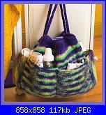 Cappelli,cuffiette,sciarpe.muffole,borse portatutto per bimbi da 0 a 12 anni-knitsknotsbuttonbows_5722550077-jpg