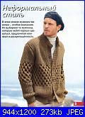 Maglia uomo-maglia-uomo-ferri-marrone-1-jpg