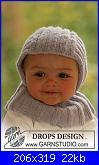 Cappelli,cuffiette,sciarpe.muffole,borse portatutto per bimbi da 0 a 12 anni-21-1-jpg