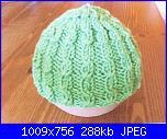 I miei lavori - Cladye --berretto-verde-jpg