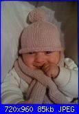 Le creazioni per le mie piccole muse ispiratrici-cappellino-e-sciarpetta-invernali-jpg