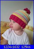 Le creazioni per le mie piccole muse ispiratrici-cappellino-lana-2-jpg