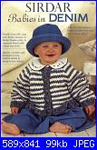 RIVISTE SIRDAR PATONS WENDY UKHA-knitting-sirdar-booklet-266-babies-denim_1-jpg