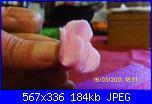 fiori rosa fiori di feltro - tutorial e cartamodelli --4-jpg