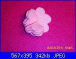 fiori rosa fiori di feltro - tutorial e cartamodelli --5-jpg