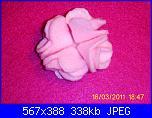 fiori rosa fiori di feltro - tutorial e cartamodelli --6-jpg