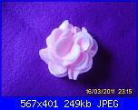 fiori rosa fiori di feltro - tutorial e cartamodelli --7-jpg