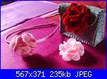 fiori rosa fiori di feltro - tutorial e cartamodelli --10-jpg