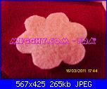 fiori rosa fiori di feltro - tutorial e cartamodelli --2-jpg