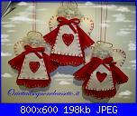 Angioletti di Natale in pannolenci-angioletti-stoffa-jpg
