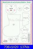 Decorazioni natalizie in feltro (con cartamodelli)-fuoriporta-calza-con-orsetto-2-jpg