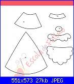 Decorazioni natalizie in feltro (con cartamodelli)-babbo-triangolo-jpg