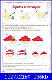 Decorazioni natalizie in feltro (con cartamodelli)-babbo-pag-4-jpg