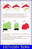 Decorazioni natalizie in feltro (con cartamodelli)-babbo-pag-5-jpg