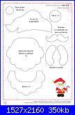 Decorazioni natalizie in feltro (con cartamodelli)-babbo-pag-7-jpg