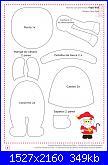 Decorazioni natalizie in feltro (con cartamodelli)-babbo-pag-8-jpg