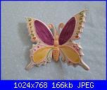Il mercatino delle ceramiche-farfalla-jpg