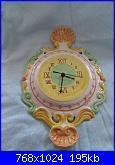 Il mercatino delle ceramiche-orologio-barocco-jpg