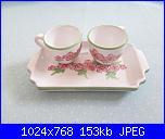 Il mercatino delle ceramiche-vassoio-2-tazzine-caff-jpg