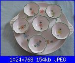 Il mercatino delle ceramiche-vassoio-6-coppette-gelato-macedonia-jpg