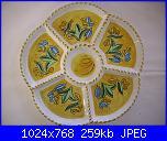 Il mercatino delle ceramiche-antipastiera-fiore-cm-26-jpg