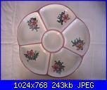 Il mercatino delle ceramiche-antipastiera-fiore-cm-26-2-jpg