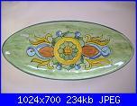 Il mercatino delle ceramiche-ovale-pesce-cm-35-jpg