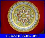Il mercatino delle ceramiche-piatto-cm-32-jpg