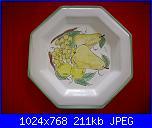 Il mercatino delle ceramiche-piatto-ottagonale-jpg