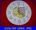 Il mercatino delle ceramiche-orologio-cm-32-jpg