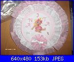Cerco fiocco nascita rosa a forma di cuore-anita-jpg