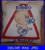 """""""Bimbo a bordo"""", """"Mamma a bordo"""", """"Cane a bordo"""" - gli schemi di Natalia-p1000474-1-jpg"""