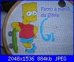 i Simpson creati da Natalia-326089_248628091863284_145324665526961_704952_1996246831_o-jpg