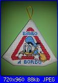 """""""Bimbo a bordo"""", """"Mamma a bordo"""", """"Cane a bordo"""" - gli schemi di Natalia-10001396_10202855039210971_356653038_n-jpg"""