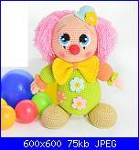 Clown Amigurumi – crochet pattern – Carmen Crochet | 165x152