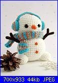 SAL Aspettando il Natale - prima parte - uncinetto e amigurumi-snowman-jpg