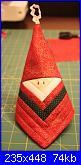 Sal natalizi creiamo insieme: Babbo Natale patchwork-19-babbo-natale-log-cabin-jpg
