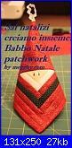 Sal natalizi creiamo insieme: Babbo Natale patchwork-19-babbo-natale-log-cabin-banner-jpg