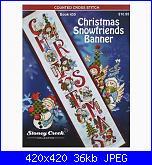 """Sal """"Christmas Snowfriends banner""""-c-s-b-jpg"""