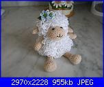 Pecora amigurumi - Per la casa e per te - Bambole e pupazzi - di ... | 128x152