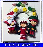 SAL Impariamo il feltro - Fuoriporta Ghirlanda di Natale-img_1438-jpg