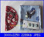 SAL Impariamo a cucire un portachiavi o portamonete yo-yo-20210418_103844-jpg
