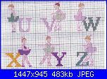 Alfabeti persone-alfabeto-ballerine-u-v-w-x-y-z-jpg