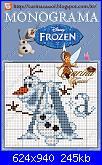 Olaf monograma-Frozen-Disney-jpg