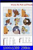 Alfabeto / sampler di Winnie The Pooh-2-jpg