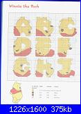 Alfabeto / sampler di Winnie The Pooh-4-jpg